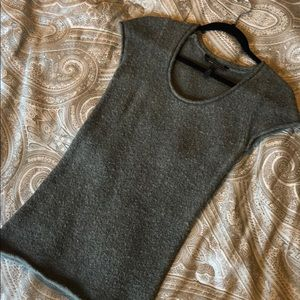 BCBG short sleeve long sweater top - soft cozy